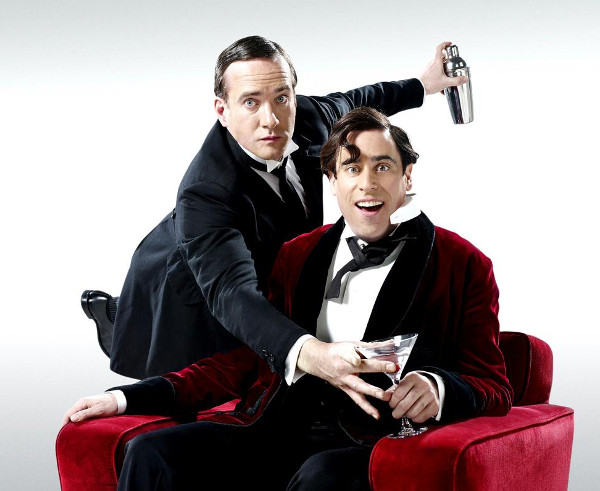 Matthew Macfadyen & Stephen Mangan as Jeeves and Wooster
