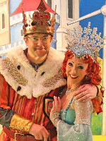 Joe Pasquale and Bonnie Langford