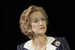 Haydn Gwynne as Margaret Thatcher in The Audience