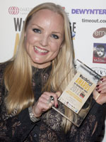 Kerry Ellis at the 2012 WhatsOnStage Awards