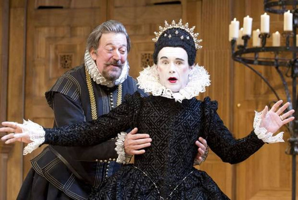 Stephen Fry & Mark Rylance in Twelfth Night