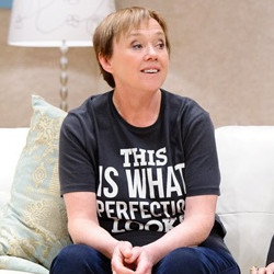 Pauline Quirke in Birds of a Feather on stage