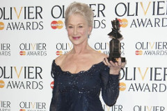 Helen Mirren at the 2013 Olivier Awar
