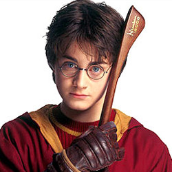 Radcliffe in his Harry Potter days