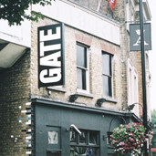 The Gate Theatre in Notting Hill