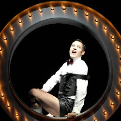 Will Young as Emcee in Cabaret