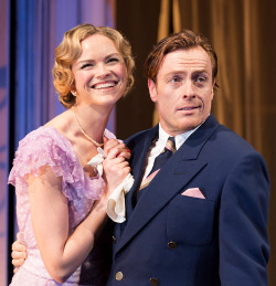 Anna-Louise Plowman and Toby Stephens in Private Lives