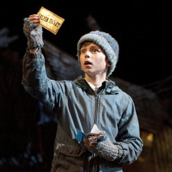 Golden ticket: Tom Klenerman as Charlie