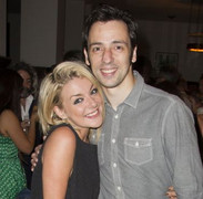 Ralf Little with former 'Two Pints' co-star Sheridan Smith