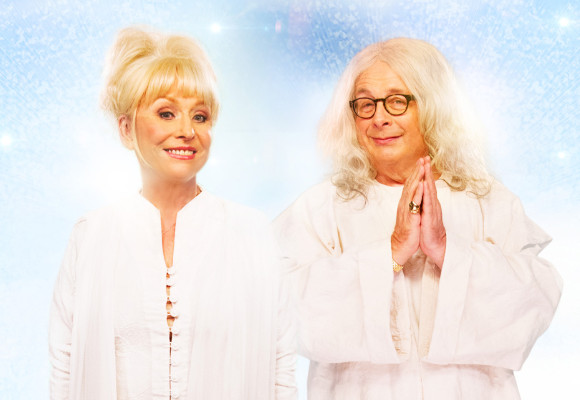 Barbara Windsor and Christopher Biggins as God