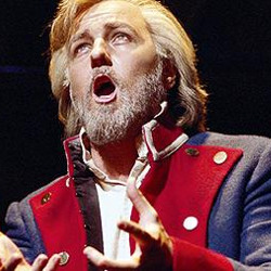 John Owen-Jones as Jean Valjean in Les Miserables