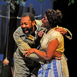 Lenny Henry and Tanya Moodie