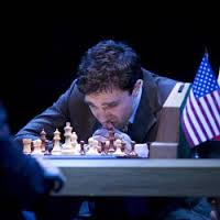 Hadley Fraser as Kasparov in The Machine
