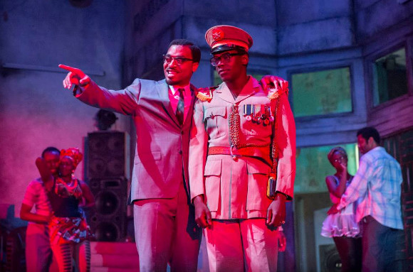 Hot ticket: Chiwetel Ejiofor and Daniel Kaluuya in A Season in the Congo at the Young Vic