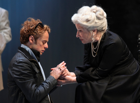 Alex Waldmann (Bertram) and Charlotte Cornwell (Countess) in All's Well That Ends Well