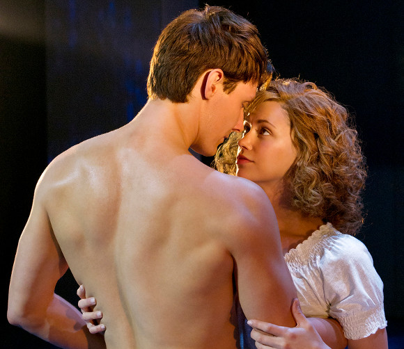 Jill Winternitz and Paul-Michael Jones in <i>Dirty Dancing</i>