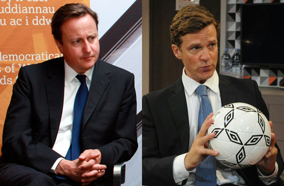 Dugald Bruce-Lockhart plays David Cameron