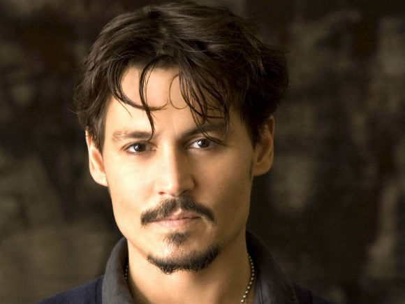 Hollywood actor Johnny Depp