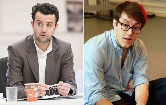 Daniel Mays and Nick Payne