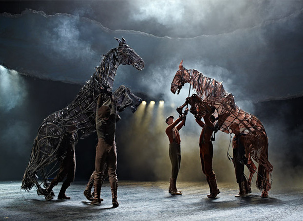 War Horse continues at the West End's New London theatre