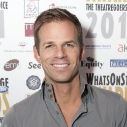Ben Richards at the 2011 WhatsOnStage Awards