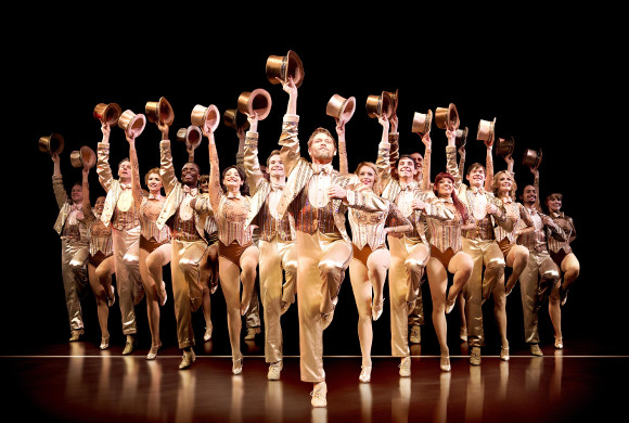The company of A Chorus Line