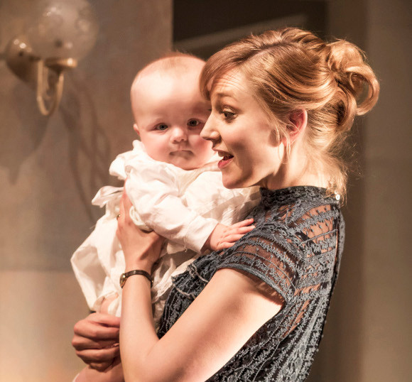 Hattie Morahan (Nora) in A Doll's House at the Duke of York's