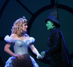 Dianne Pilkington and Kerry Ellis as Glinda and Elphaba