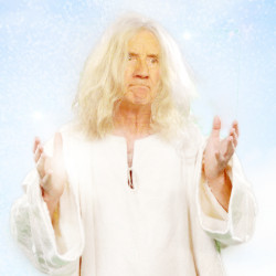 Michael Palin as God