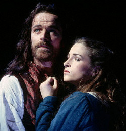 Iain Glen and Juliette Caton in the original production