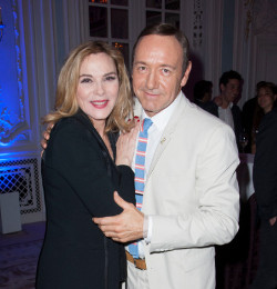 Kevin Spacey with Kim Cattrall
