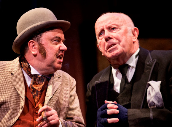 Richard McCabe and Richard Wilson