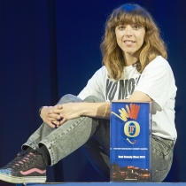 Bridget Christie wins the 2013 Foster's Edinburgh Comedy Award