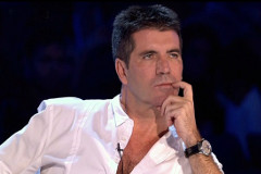 Simon Cowell on <i>The X Factor</i>