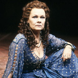 Judi Dench as Cleopatra in 1987