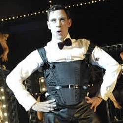 Will Young as the Emcee in <i>Cabaret</i>.