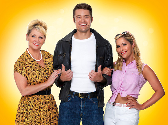 Cheryl Baker, Ben Freeman and Heidi Range
