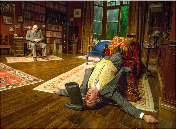 Antony Sher and Adrian Schiller in Hysteria at the Hampstead Theatre