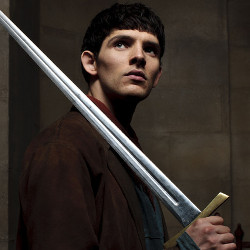 Colin Morgan in <i>Merlin</i>