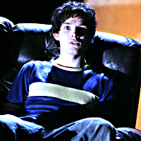 Colin Morgan in Vernon God Little at the Young Vic