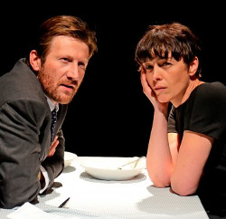 Mark Bazeley and Olivia Williams in <i>Scenes from a Marriage</i>