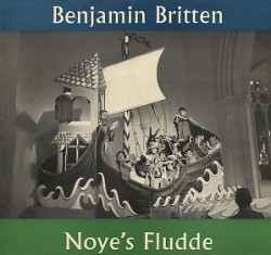 The original Argo LP sleeve for Noye's Fludde