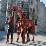 Joey, the War Horse, at Southampton's Bargates