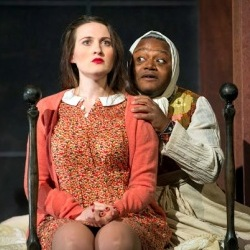 Paula Sides (Poppea) & John-Colyn Gyeantey (Arnalta) in ETO's The Coronation of Poppea