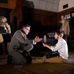 A scene from 1984 by George Orwell @ Nottingham Playhouse. Directed by Robert Icke. (Opening 16-09-13) ©Tristram Kenton 09/13 (3 Raveley Street, LONDON NW5 2HX TEL 0207 267 5550  Mob 07973 617 355)email: tristram@tristramkenton.com