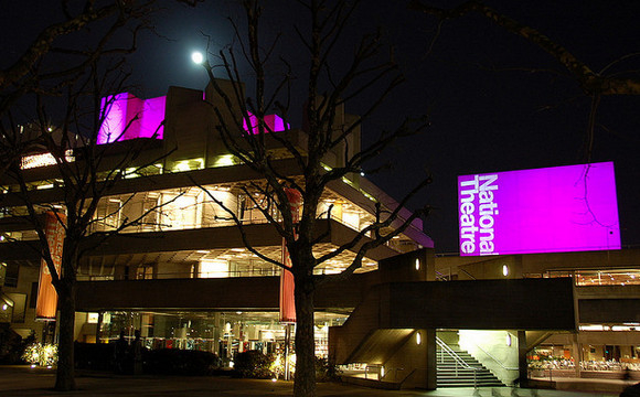 The National Theatre by night
