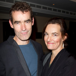 Rufus Norris and his wife, playwright Tanya Ronder