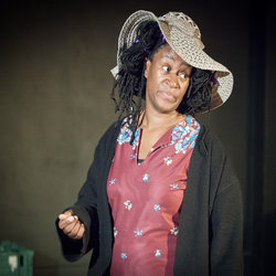Flo Wilson as Evelyn in Marcia Layne's Bag Lady.